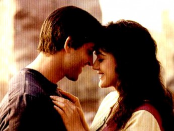 Movie Still From The Film Lakshya Featuring Hrithik Roshan,Preity Zinta