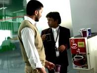 Movie Still From The Film Rann,Riteish Deshmukh,Rajpal Yadav
