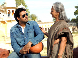 Movie Still From The Film Delhi-6,Abhishek Bachchan,Waheeda Rehman