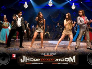 Movie Still From The Film Jhoom Barabar Jhoom,Abhishek Bachchan,Lara Dutta,Preity Zinta,Bobby Deol