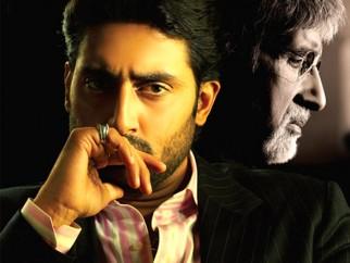 Movie Still From The Film Sarkar Raj,Abhishek Bachchan,Amitabh Bachchan
