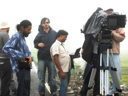 On The Sets Of The Film Fatso,Rajat Kapoor