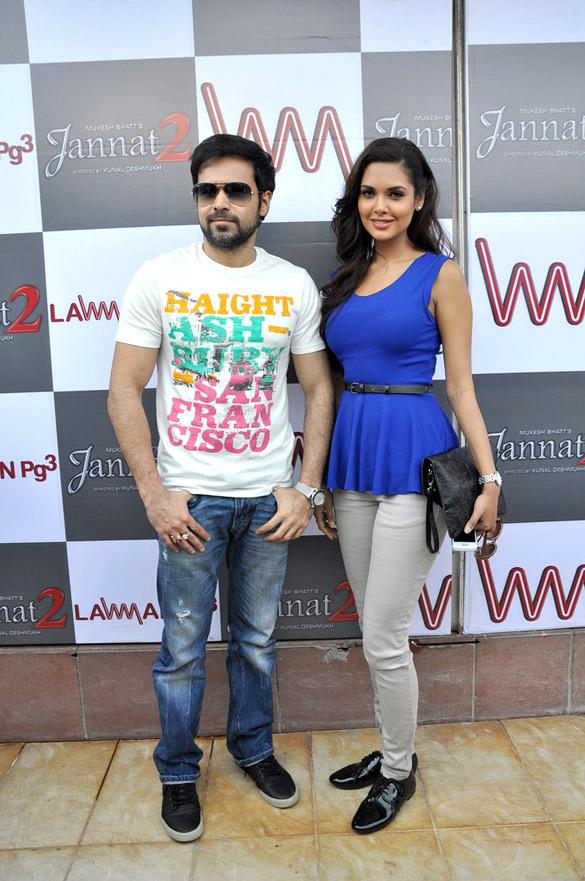 Emraan and Esha Gupta promote 'Jannat 2'