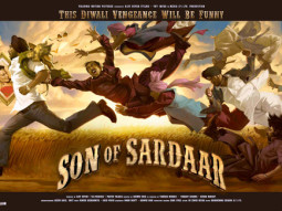 First Look Of The Movie Son Of Sardaar