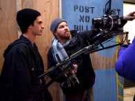 On The Sets Of The Film The Amazing Spider - Man,Andrew Garfield,Marc Webb