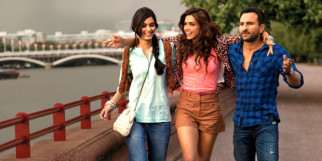 Movie Still From The Film Cocktail,Diana Penty,Deepika Padukone,Saif Ali Khan