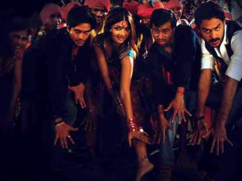 Movie Still From The Film Aalaap,Harsh Rajput,Gamya Wijayadasa,Pitobash Tripathy,Aabid Shamim