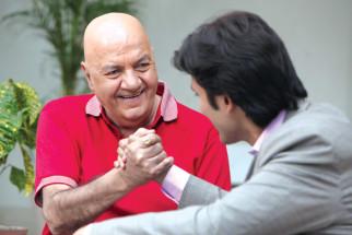 Movie Still From The Film Challo Driver,Prem Chopra,Vickrant Mahajan