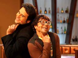 Movie Still From The Film Mera Naam Chin Chin Choo,Krishna Abhishek,Rajpal Yadav