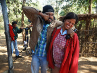 On The Sets Of The Film Aalaap Featuring Manish Manikpuri