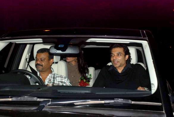 Nargis Fakhri, Uday Chopra & Jugal Hansraj watch 'The Dark Knight Rises'