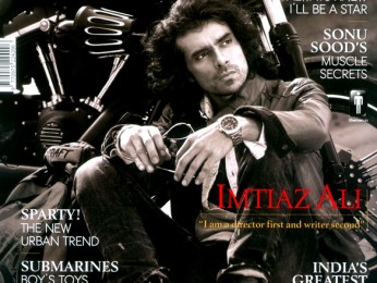 Imtiaz Ali On The Cover Of The Man,Aug 2012