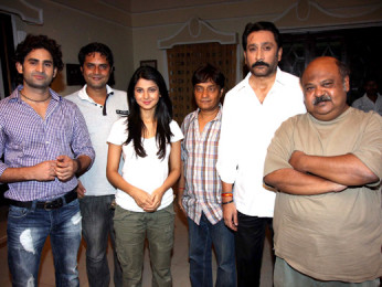 On The Sets Of The Film Love Kiya Aur Lag Gayi,Vinod Dixit,Rahat Kazmi,Jennifer Winget,Brijendra Kala,Mukesh Tiwari,Saurabh Shukla
