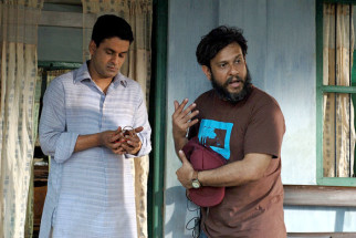 On The Sets Of The Film Chittagong,Manoj Bajpayee,Bedabrata Pain