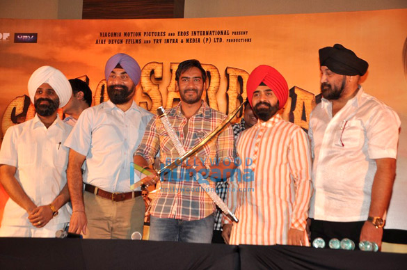 Press conference of 'Son Of Sardaar'