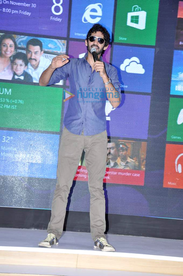 Aamir Khan at 'Talaash – Windows 8' press conference