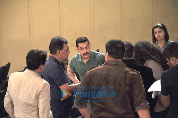 B.P. Singh, Aamir Khan, Daya Shetty