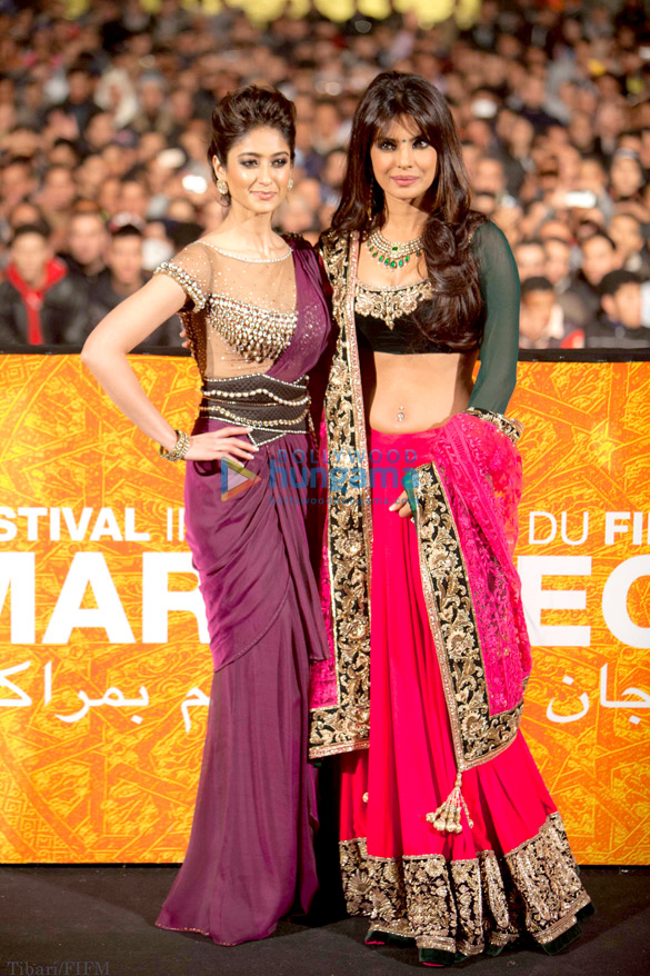 'Barfi!' team at the 12th International Marrakech Film Festival