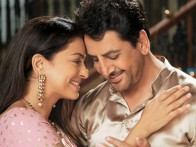 Movie Still From The Film Sukhmani,Juhi Chawla,Gurdas Mann