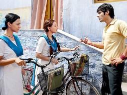 Movie Still From The Film Well Done Abba,Minissha Lamba,Sameer Dattani