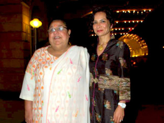 Photo Of Honey Irani,Adhuna Akhtar From The Hrithik, Akshay and Saifeena at Dr Agarwal's daughter's wedding