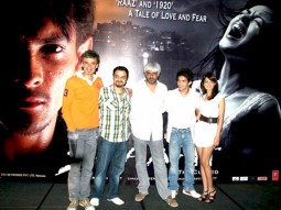 Photo Of Rahul Dev,Chirantan Bhatt,Vikram Bhatt,Aditya Narayan,Shweta Agarwal From Press conference of Shaapit