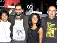 Photo Of Abhay Deol,Tannishtha Chatterjee,Dev Benegal From The 'Road, Movie's photo exhibition