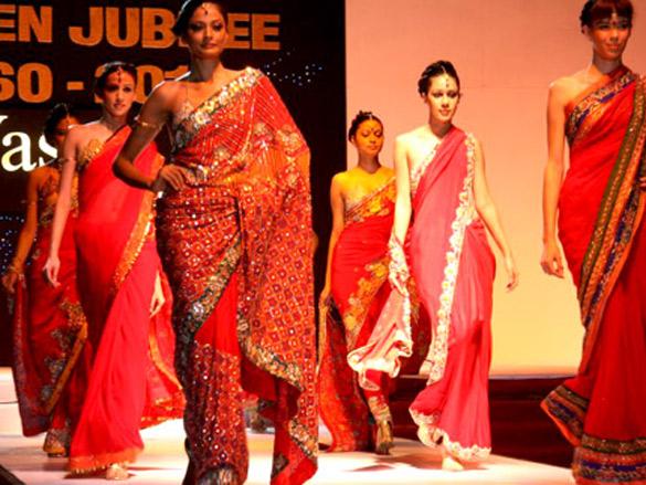 Smilie Suri walks for Rachna Sansad's fashion show