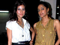 Photo Of Arya Devdutta,Neha Chauhan From Special screening of Love Sex Aur Dhokha for media