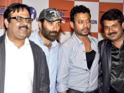 Photo Of Neeraj Pathak,Sunny Deol,Irrfan Khan,Krishan Choudhary From Sunny Deol and Irrfan Khan at Right Yaaa Wrong success bash