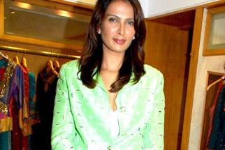 Photo Of Viveka Babaji From The Vogue - Ritu Kumar fashion showcase