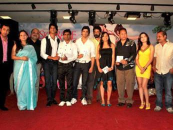 Photo Of Hiten Paintal,Jiten Mukhi,Khayali,Gashmeer Mahajani,Om Katare From The Audio Release of Muskurake Dekh Zara