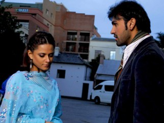 Movie Still From The Film Virsa,Mehreen Raheal,Arya Babbar