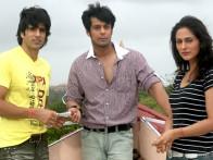 Movie Still From The Film Kuchh Kariye,Rufy Khan,Vikrum Kumar,Khuahhish