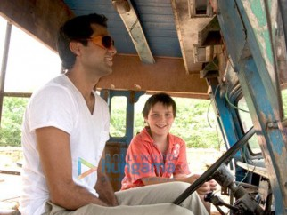 On The Sets Of The Fillim of Road,Movie Featuring,Abhay Deol