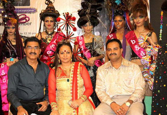 Photo Of Bharat,Dorris,Jaywant From 1st Bharat and Dorris makeup and hair style Awards 2009