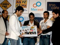 Photo Of Sameer Aftab,Devang Dholkia,Sunil Shetty,Anuj Sawhney From Audio release of 3 Nights 4 Days