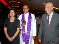 Photo Of Suhasini Mulay,Yusuf Hussain,Prem Chopra From Audio release of Daddy Cool