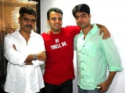 Photo Of Mazhar Kamran,Nakul Vaid,Sushant Singh From Media meet of 'Mohandas'
