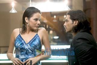 Movie Still From The Film Fox Featuring Arjun Rampal,Udita Goswami