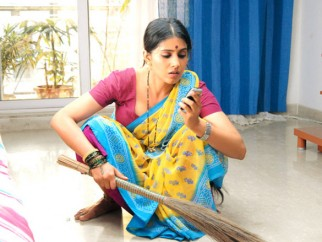 Movie Still From The Film Love Khichdi Featuring Sonali Kulkarni