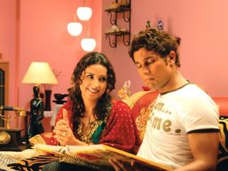 Movie Still From The Film Love Khichdi Featuring Randeep Hooda,Divya Dutta