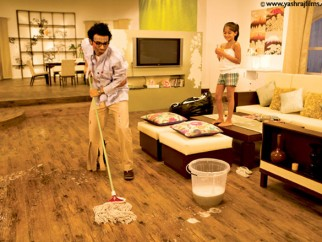 Movie Still From The Film Pyaar Impossible Featuring Uday Chopra