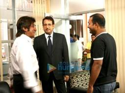 Movie Still From The Film Pyaar Kaa Fundaa Featuring Kiran Kumar,Shakti Kapoor