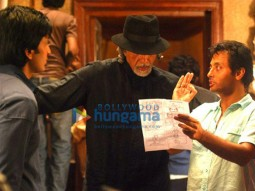 On The Sets Of The Fillim of Aladin Featuring,Sujoy Ghosh,Amitabh Bachchan,Ritesh Deshmukh