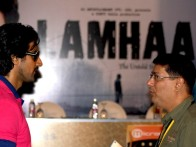 Photo Of Kunal Kapoor,Taran Adarsh From The Press conference of 'Lamhaa' at IIFA Sri Lanka