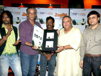 Photo Of Prashant Narayanan,Sudhir Mishra,Ustaad Shujaat Husain Khan From The Audio release of Mr. Singh Mrs. Mehta