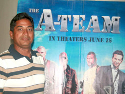 Photo Of Dudley From The Golmaal 3 team watches special screening of 'The A-Team'