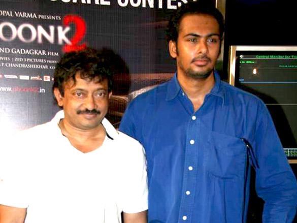 Ram Gopal Varma at 'Phoonk 2 Scare Contest'