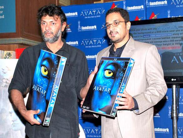 Rakeysh Omprakash Mehra launches the Blu ray ad DVD of 'Avatar'
